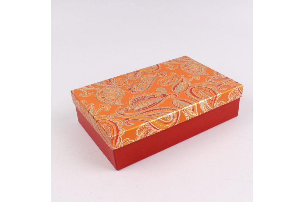 Papírový box k zabalení dárku Úložné boxy
