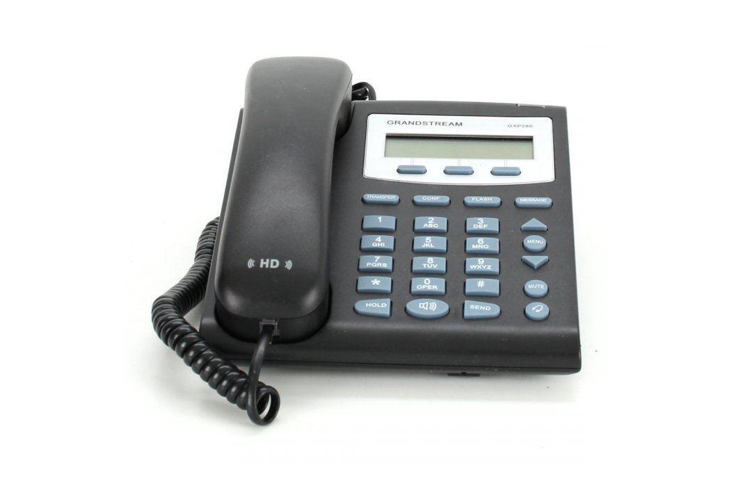 VoIP Telefon Grandstream GXP-285 černý VoIP telefony