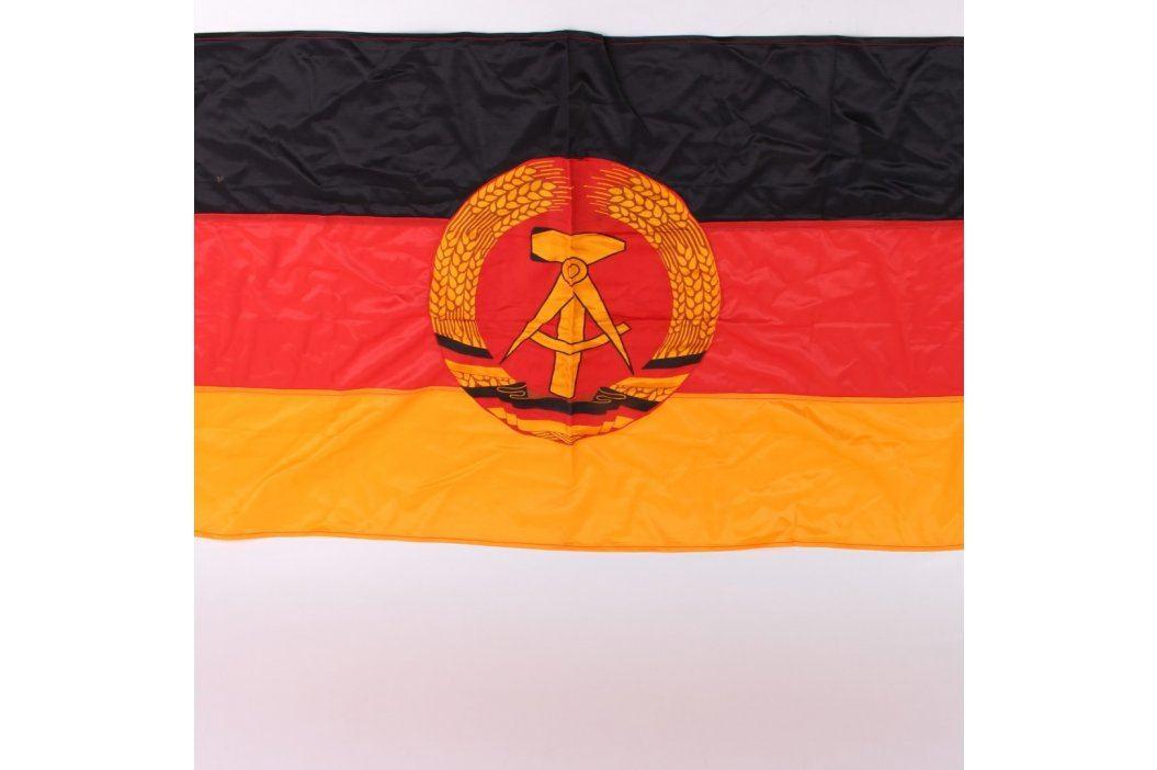 Státní vlajka Německé Demokratické Republiky Fandíme