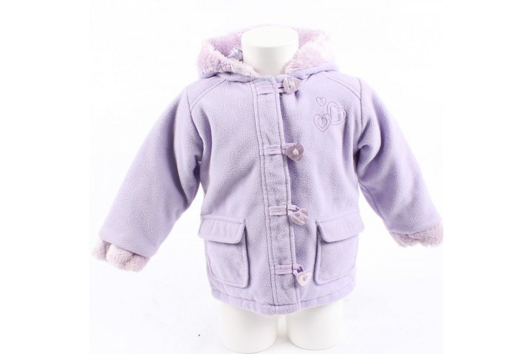 Dětská bunda George odstín fialové Dětské bundy a kabáty