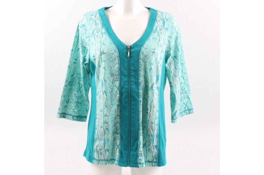 Dámská tunika Helena Vera odstín modré Dámská trička a topy