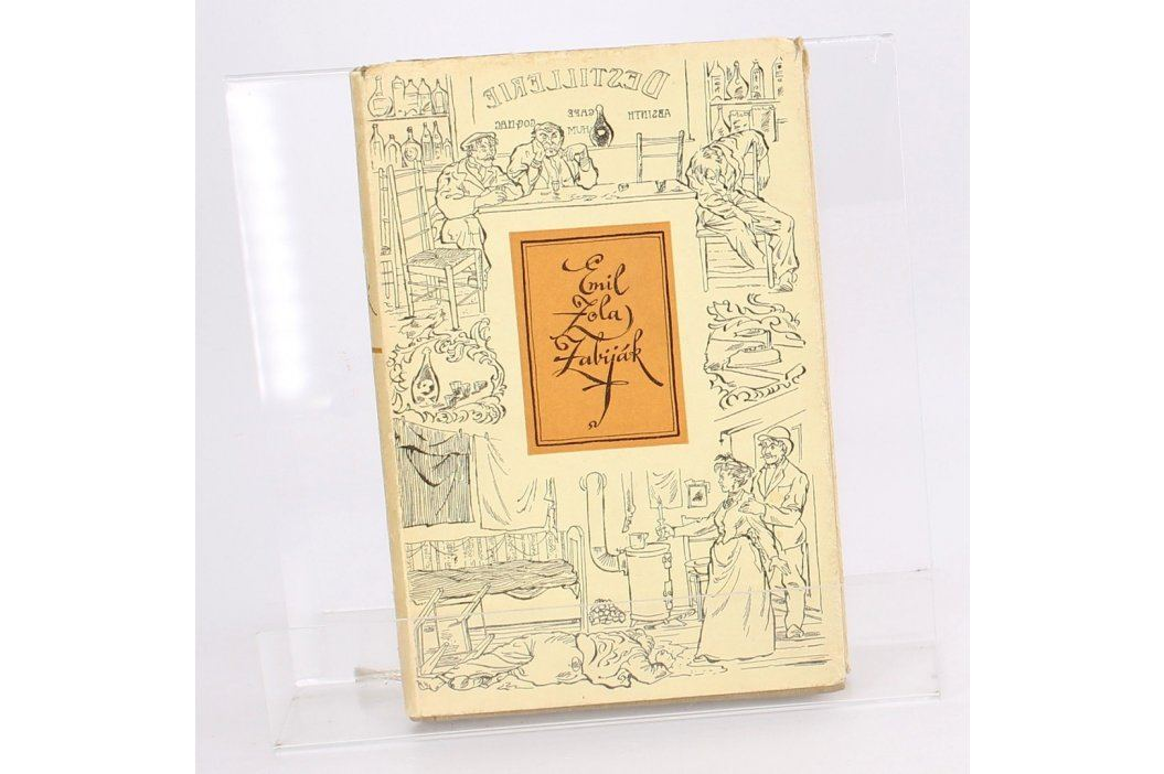 Kniha Emil Zola: Zabiják Knihy