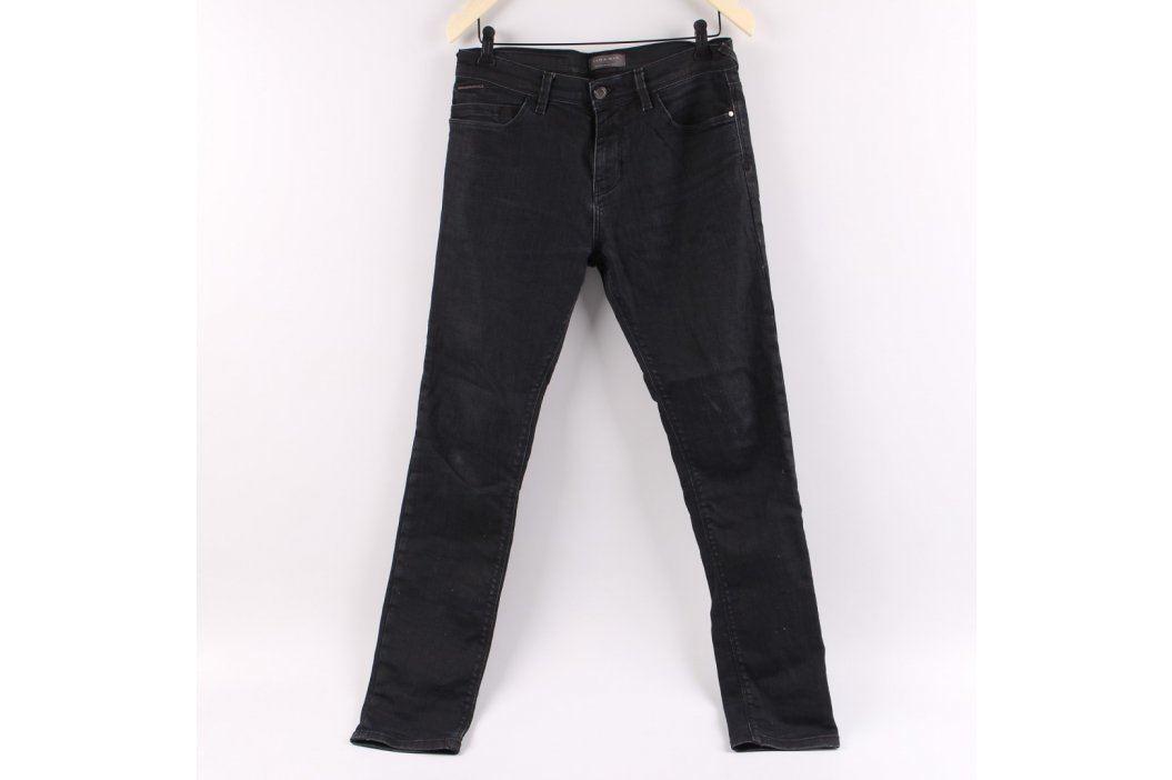 Pánské džíny ZARA černé barvy