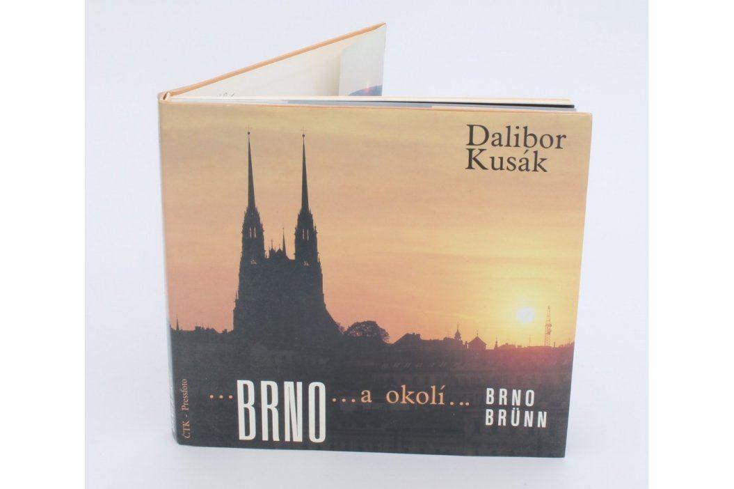 Kniha Brno a okolí - Dalibor Kusák Knihy
