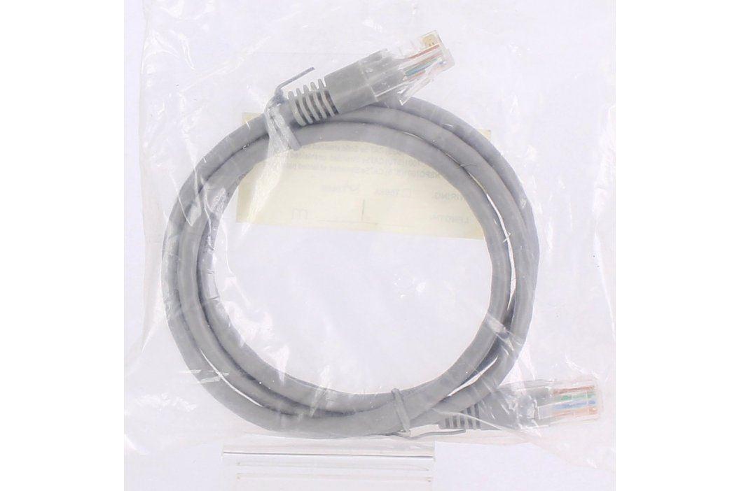 Síťový kabel RJ45 šedý délka 100 cm