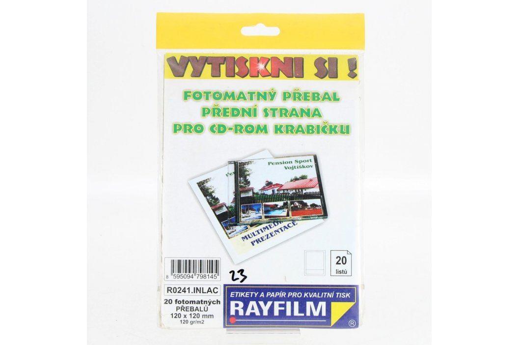 Fotopapíry Rayfilm pro CD obal 120g/m2