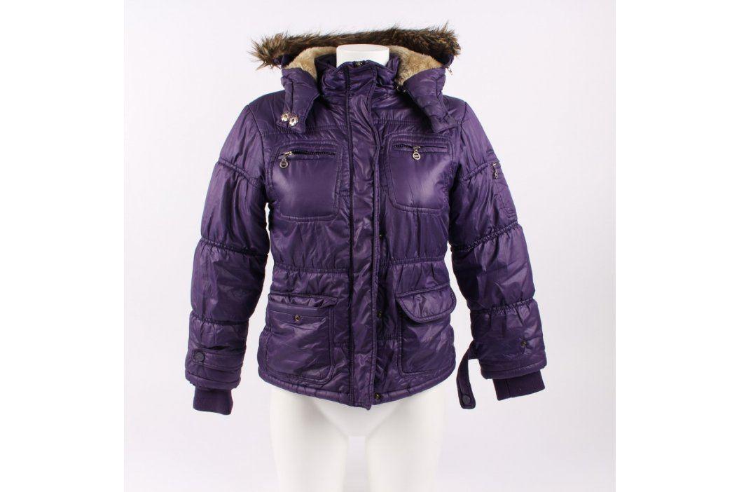 Dívčí bunda F&D fialové barvy