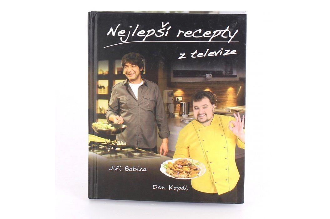 Kniha Nejlepší recepty z televize Knihy