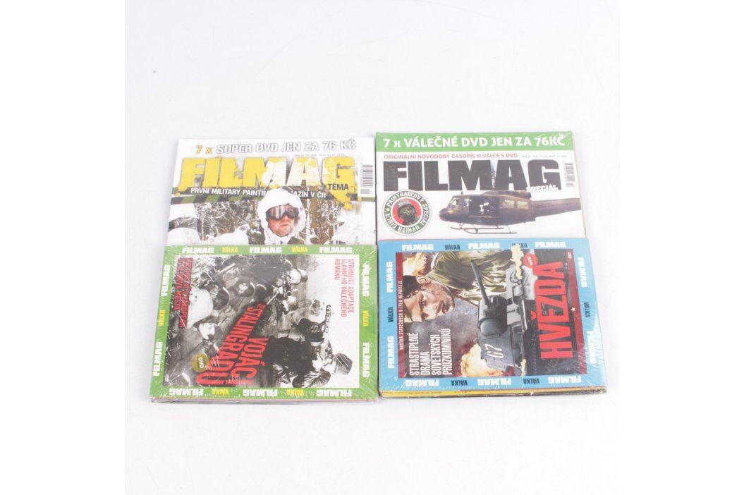 Časopisy Filmag s DVD filmy 2 ks Filmy