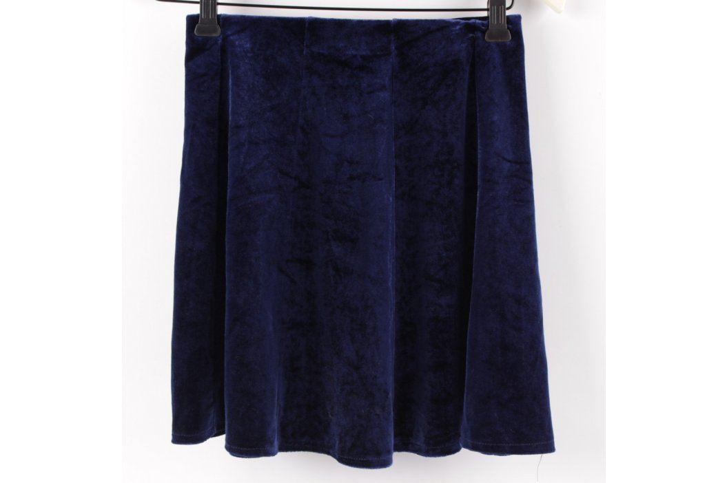 Dámská minisukně modrá