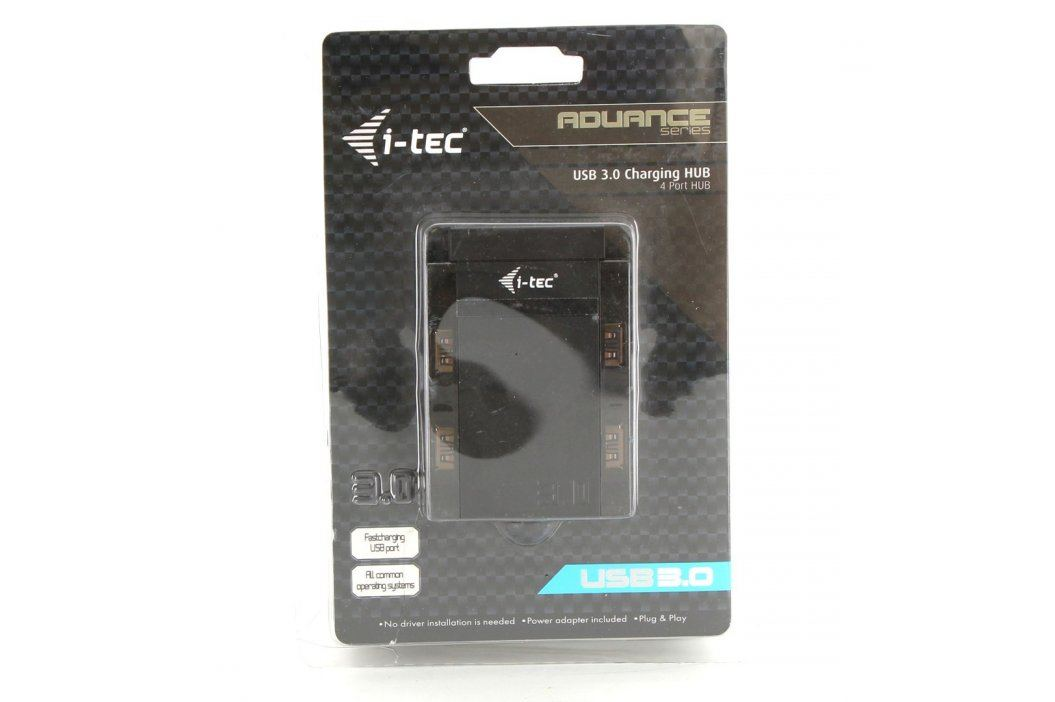 USB 3.0 HUB I-Tec Advance Charging Hub černý