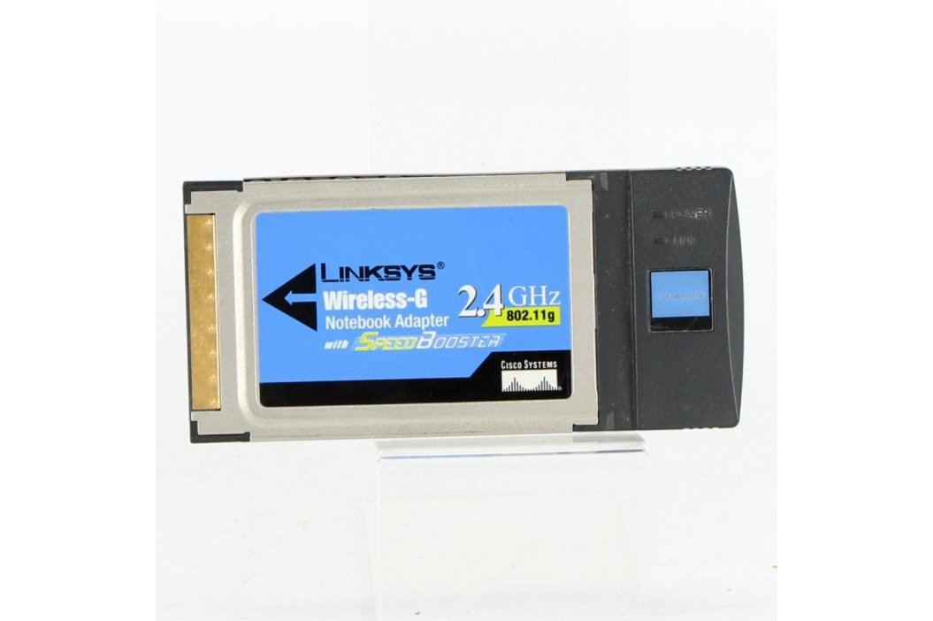 PCMCIA WLAN karta Linksys WPC54GS