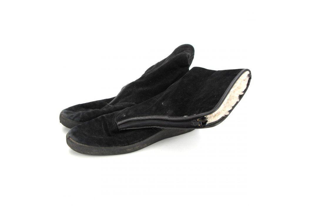Dámské zimní boty Linda semišové