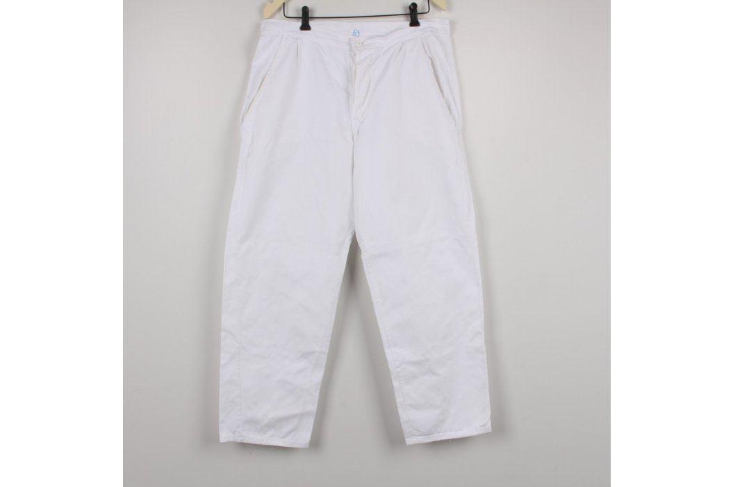 Zdravotnické kalhoty Ľubica bílé Ostatní zdravotní potřeby
