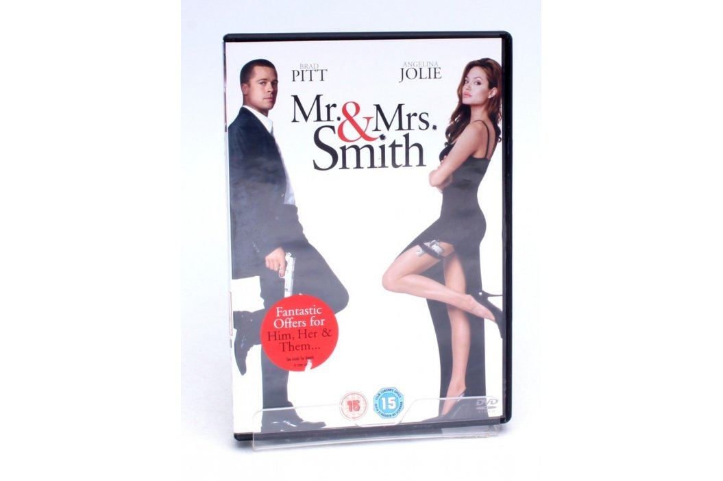 DVD Mr.&Mrs.Smith Filmy