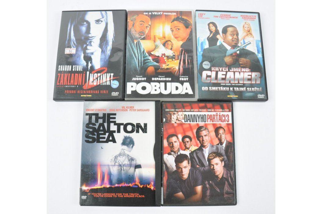 5 filmů na DVD (Pobuda, The Salton Sea) Filmy