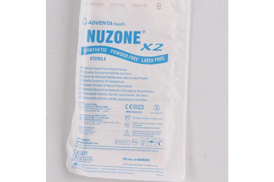 Chirurgické rukavice Adventa Nuzone Ostatní zdravotní potřeby