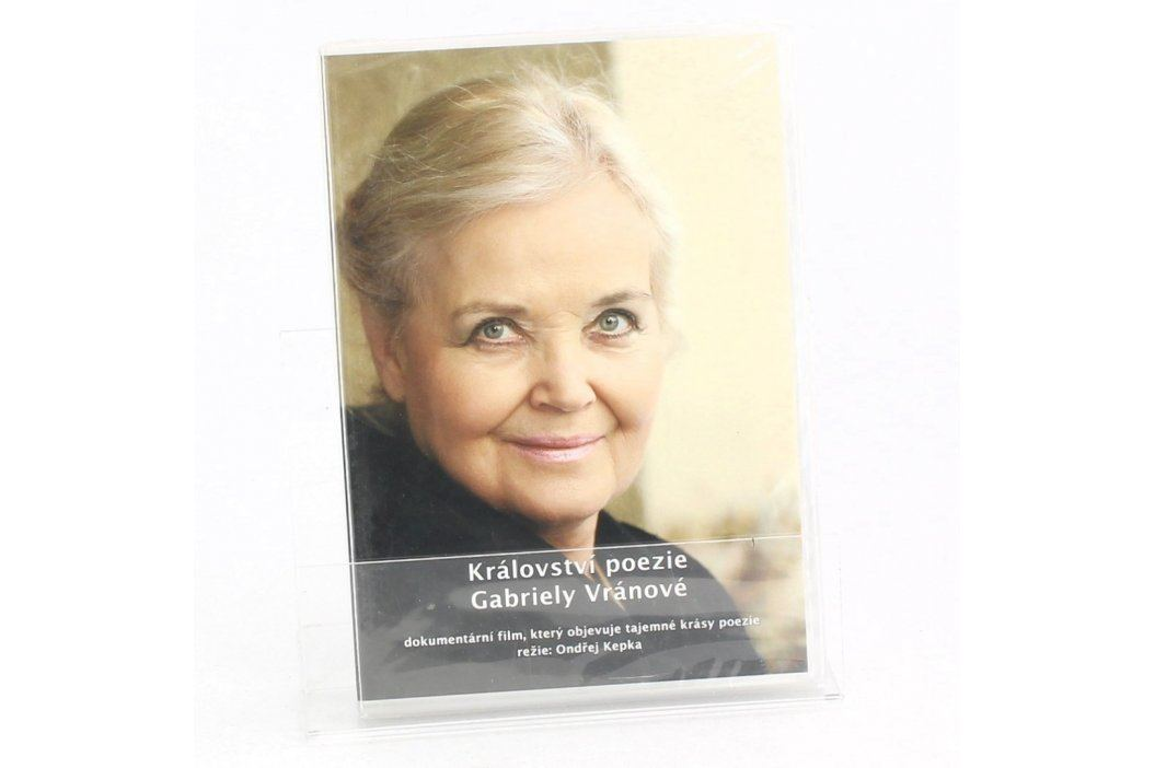 DVD film Království poezie Gabriely Vránové