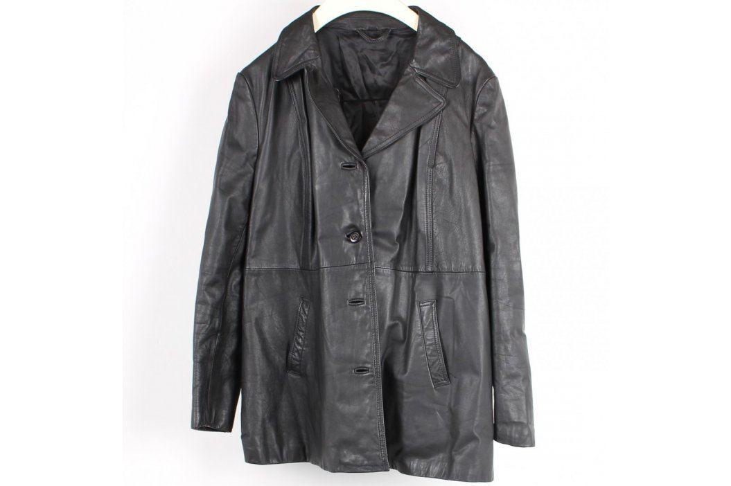 Dámský kabát Janbell černý na knoflíky