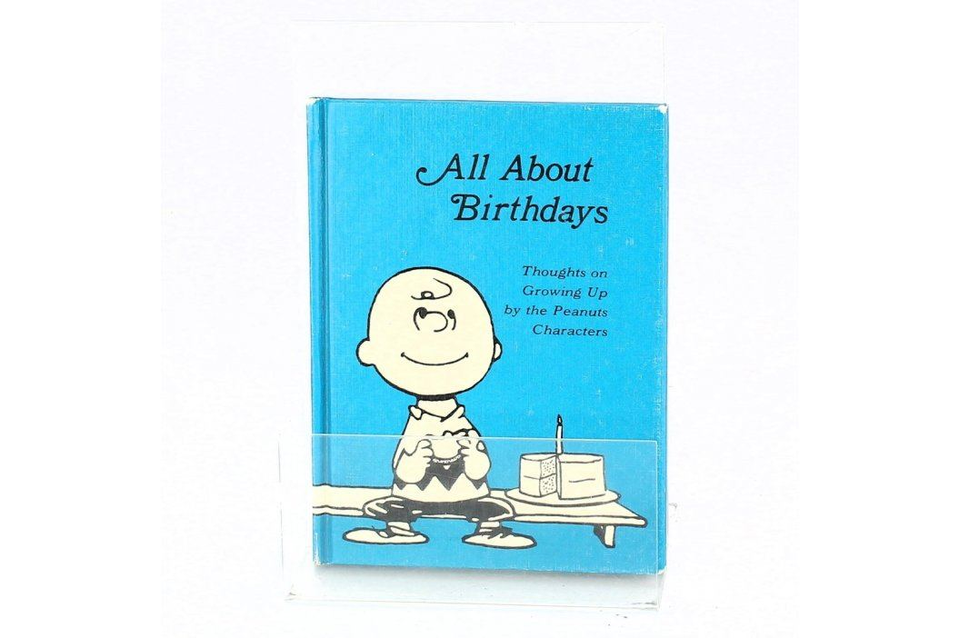All about birthdays thoughs on growing up Knihy