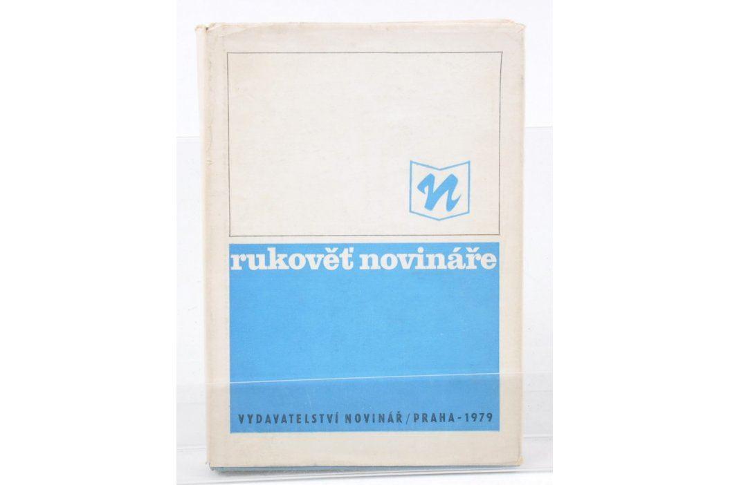 Kniha Rukověť novináře Knihy