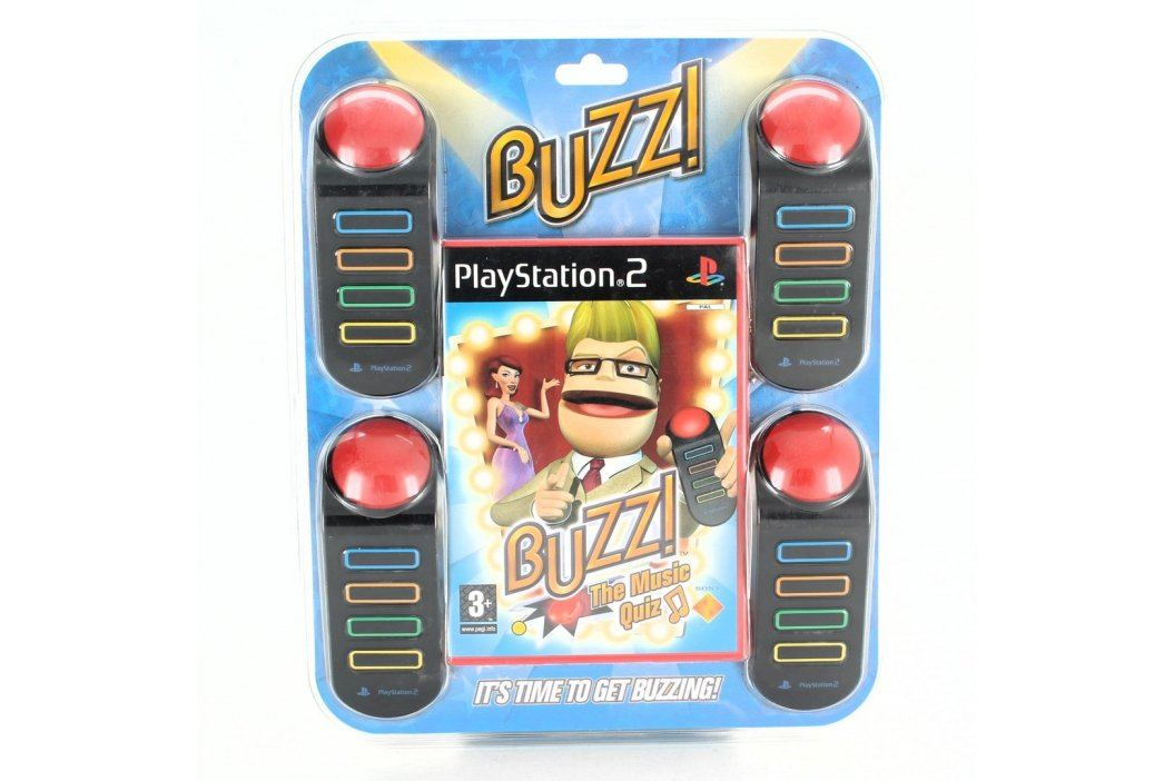 Hra pro PS2 Buzz! The Music Quiz