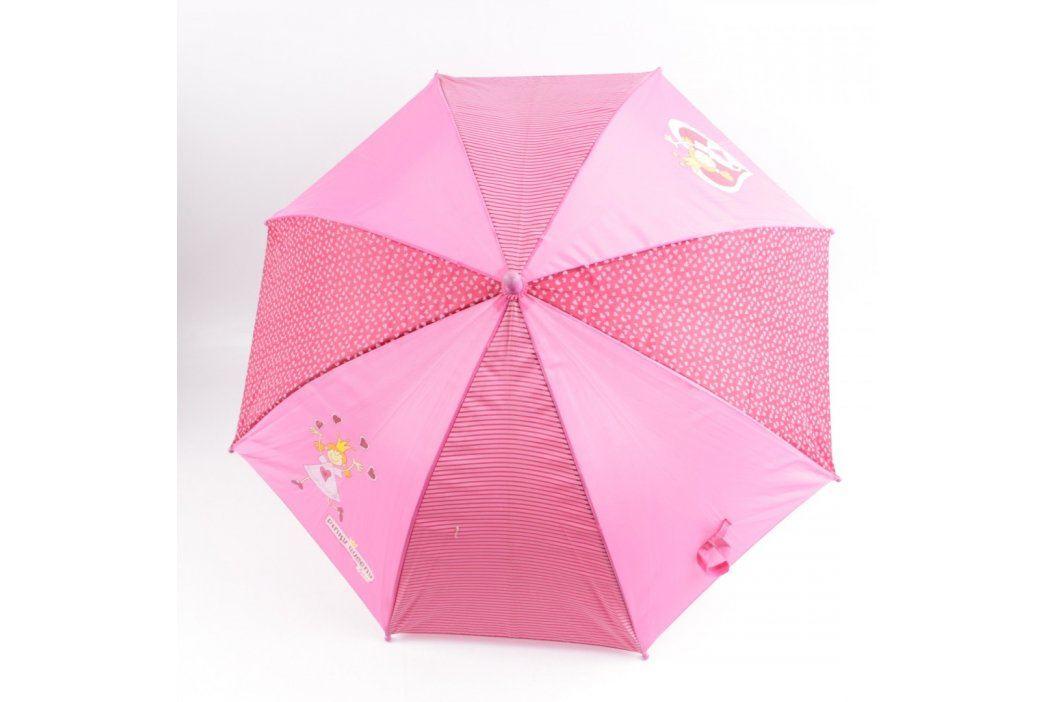 Dětský deštník růžový s princeznami