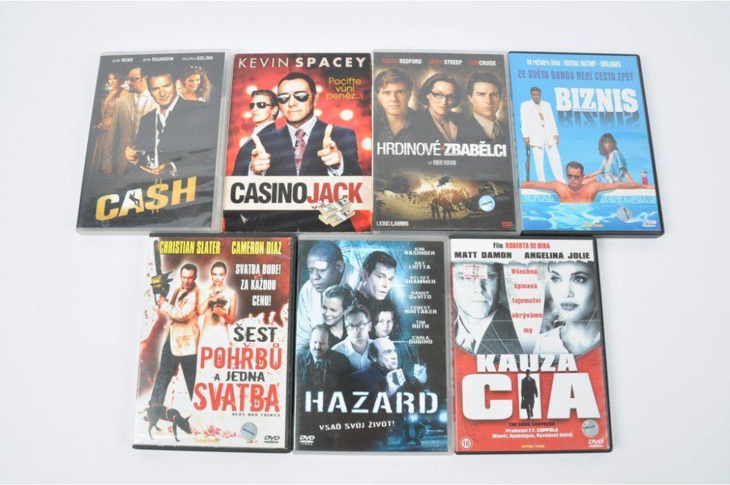 DVD Šest pohřbů a jedna svatba, Cash apod. Filmy