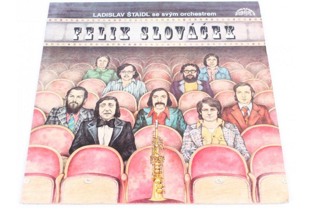 Gramofonová deska Felix Slováček: Filmové melodie  Hudba