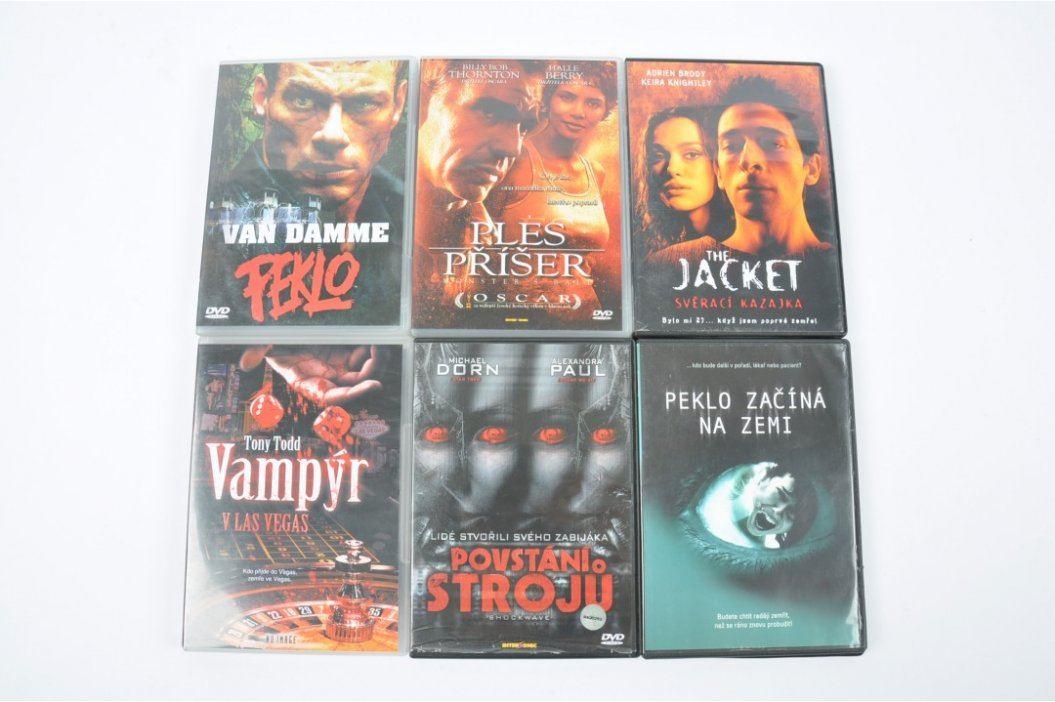 6 amerických filmů na DVD Filmy