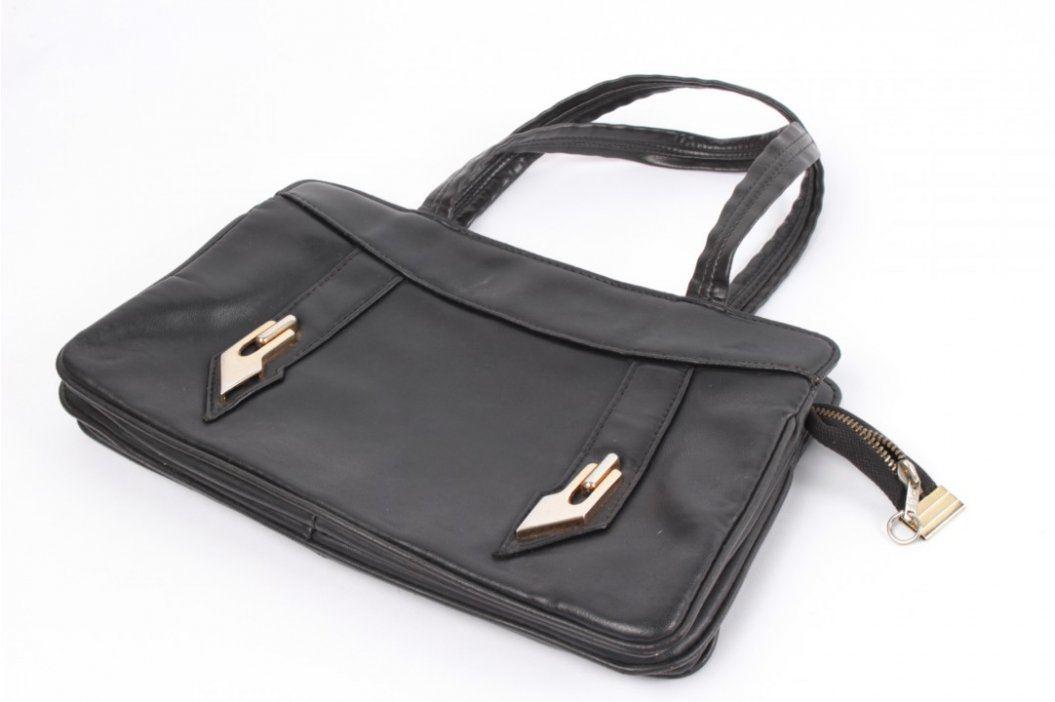 Dámská elegantní kabelka černá