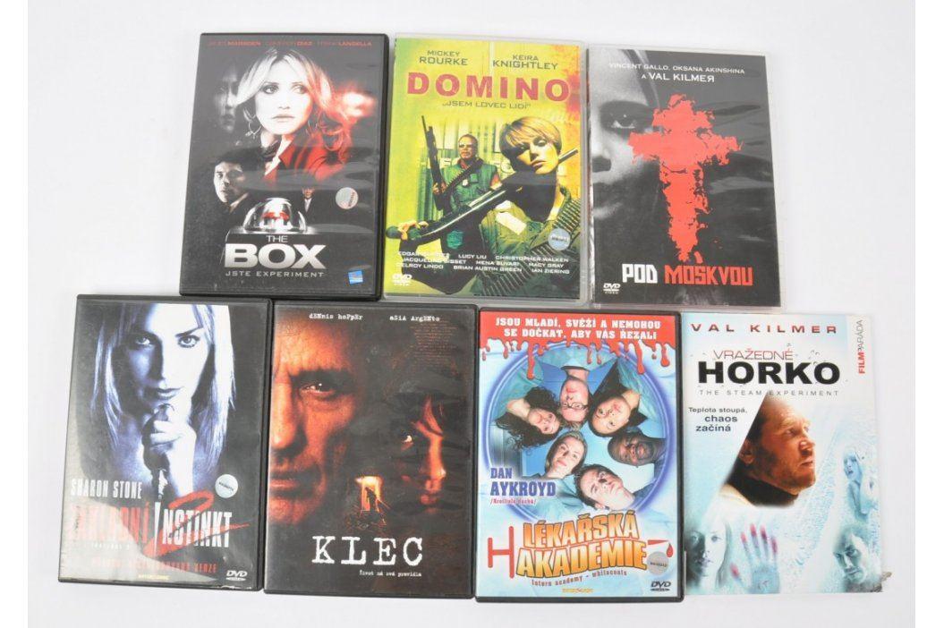 7x DVD - Pod Moskvou, Box a další Filmy