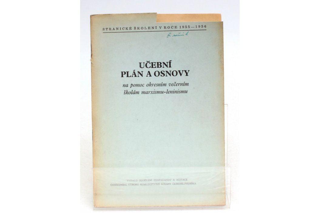 Brožura Učební plán a osnovy  Knihy