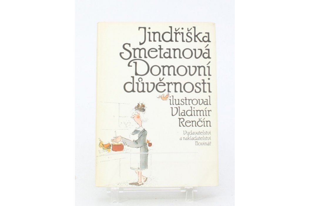 Kniha Jindřiška Smetanová: Domovní důvěrnosti Knihy