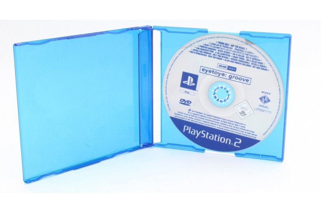 Hra na PS2 Eyetoy: Groove Hry pro Playstation 2