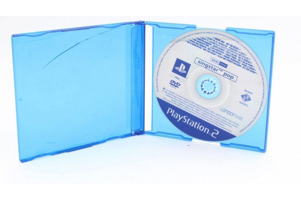 Hra pro PS2 Singstar Pop Hry pro Playstation 2