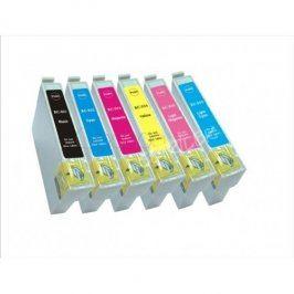 Cartridge Epson T0807 pro Epson Stylus Photo R360, Multipack, kompatibilní