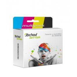 Náplně do tiskárny Canon Pixma MX700 - výhodné balení -PGI-5Bk + CLI-8 M,Y,C - kompatibilní kazety s čipem