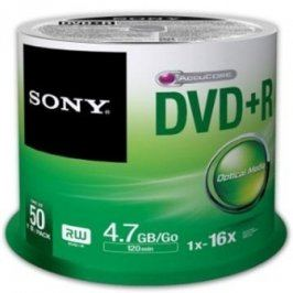 Sony DVD+R 50ks cakebox