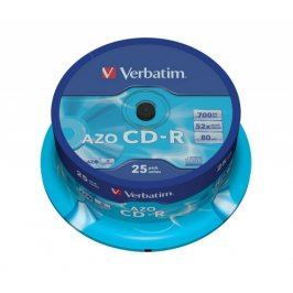 Verbatim CD-R DataLife Protection 52x, 25ks cakebox