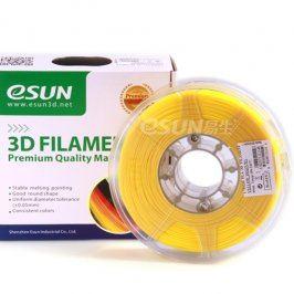 Tisková struna Esun3d CZ, PLA, 3 mm, Žlutá, 1kg /role, (PLA3YW1)