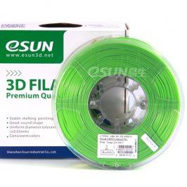 Tisková struna Esun3d CZ, ABS, 3 mm, Zelená, 1kg /role, (ABS3GN1)