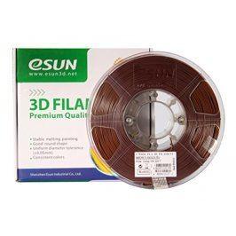 Tisková struna Esun3d CZ, PLA, 1,75 mm, Hnědá, 1kg /role, (PLA175BN1)