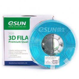 Tisková struna Esun3d CZ, PLA, 1,75 mm, Světle modrá, 1kg /role, (PLA175LBE1)