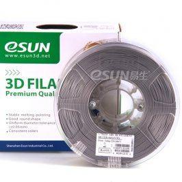 Tisková struna Esun3d CZ, PLA, 1,75 mm, Stříbrná, 1kg /role, (PLA175SR1)