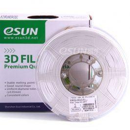 Tisková struna Esun3d CZ, PLA, 1,75 mm, Bílá, 1kg /role, (PLA175WE1)