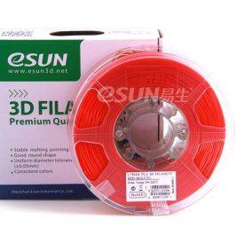 Tisková struna Esun3d CZ, PLA, 1,75 mm, Červená, 1kg /role, (PLA175RD1)