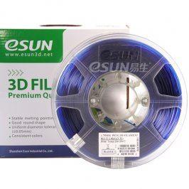 Tisková struna Esun3d CZ, PLA, 3 mm, Modrá, 1kg /role, (PLA3BE1)