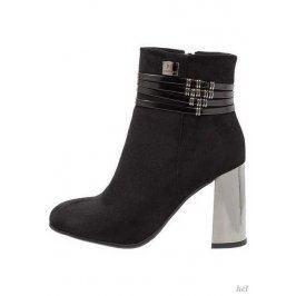 Dámské kotníčkové boty Laura Biagiotti, černé 39