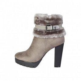 Dámské kotníčkové boty na podpatku Laura Biagiotti